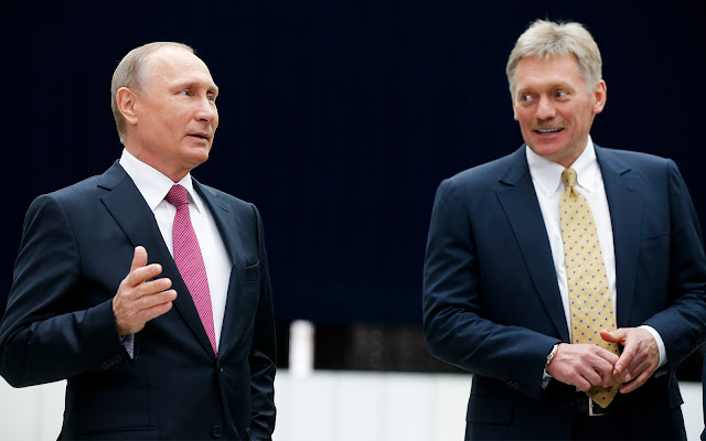 Juru Bicara Presiden Vladimir Putin Terpapar Virus Corona