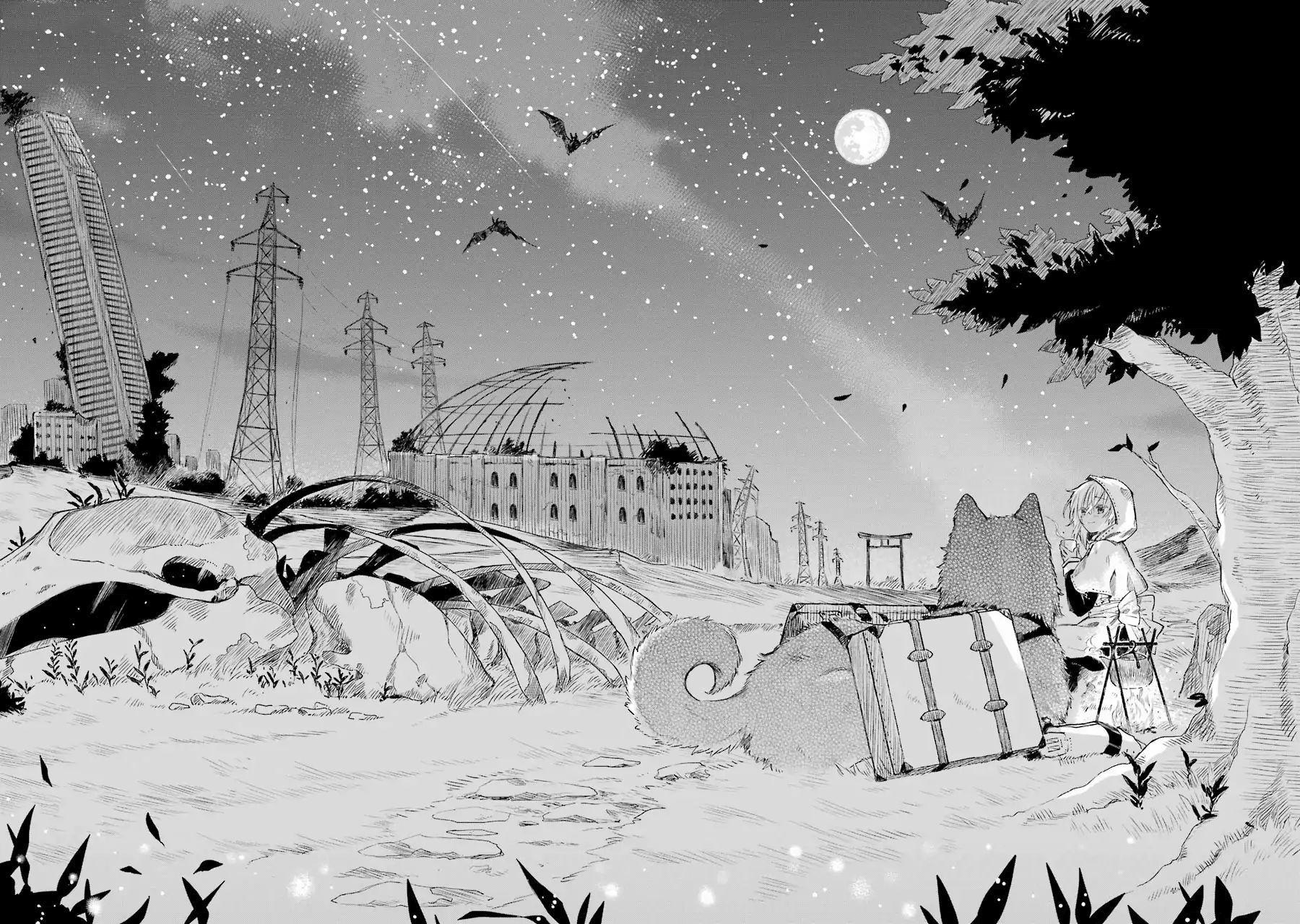อ่านการ์ตูน Tabi to Gohan to Shuumatsu Sekai ตอนที่ 3 หน้าที่ 3
