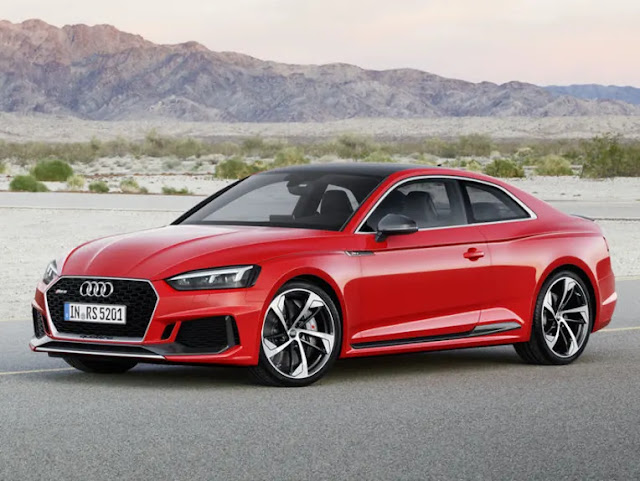 2019 New Audi RS5 Sportback in review From £62,740 front view