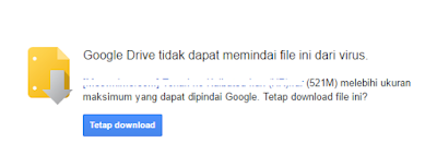 Tutorial Mengatasi Download Limit Google Drive Terbaru 5