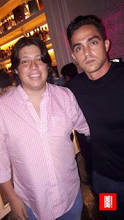 Iván Muciño y Enrique Gómez.