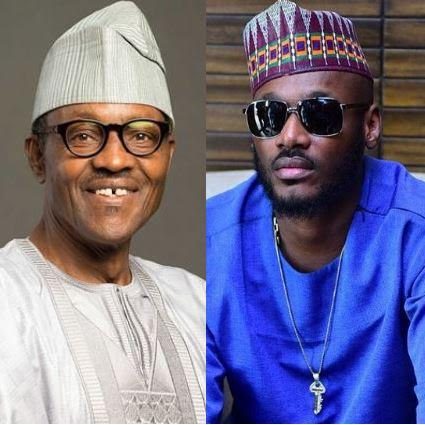 Image result for pictures of 2face and Buhari