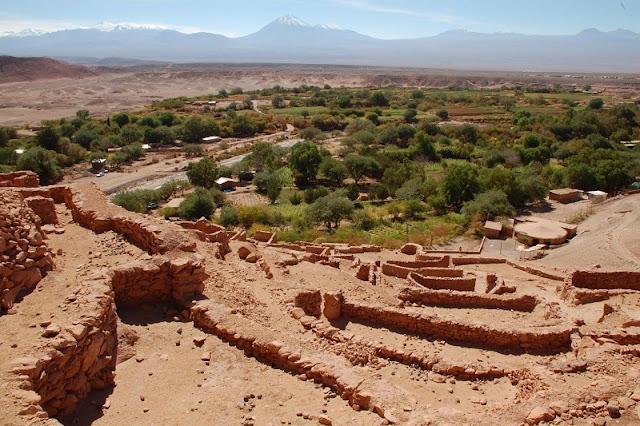 Sítio Arqueológico Pukará de Quitor. San Pedro de Atacama