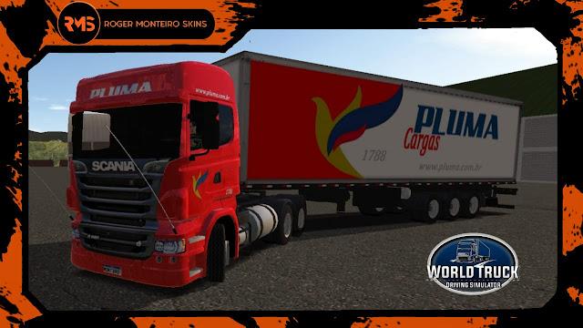 Scania R Pluma Transportes - Pluma Transportes
