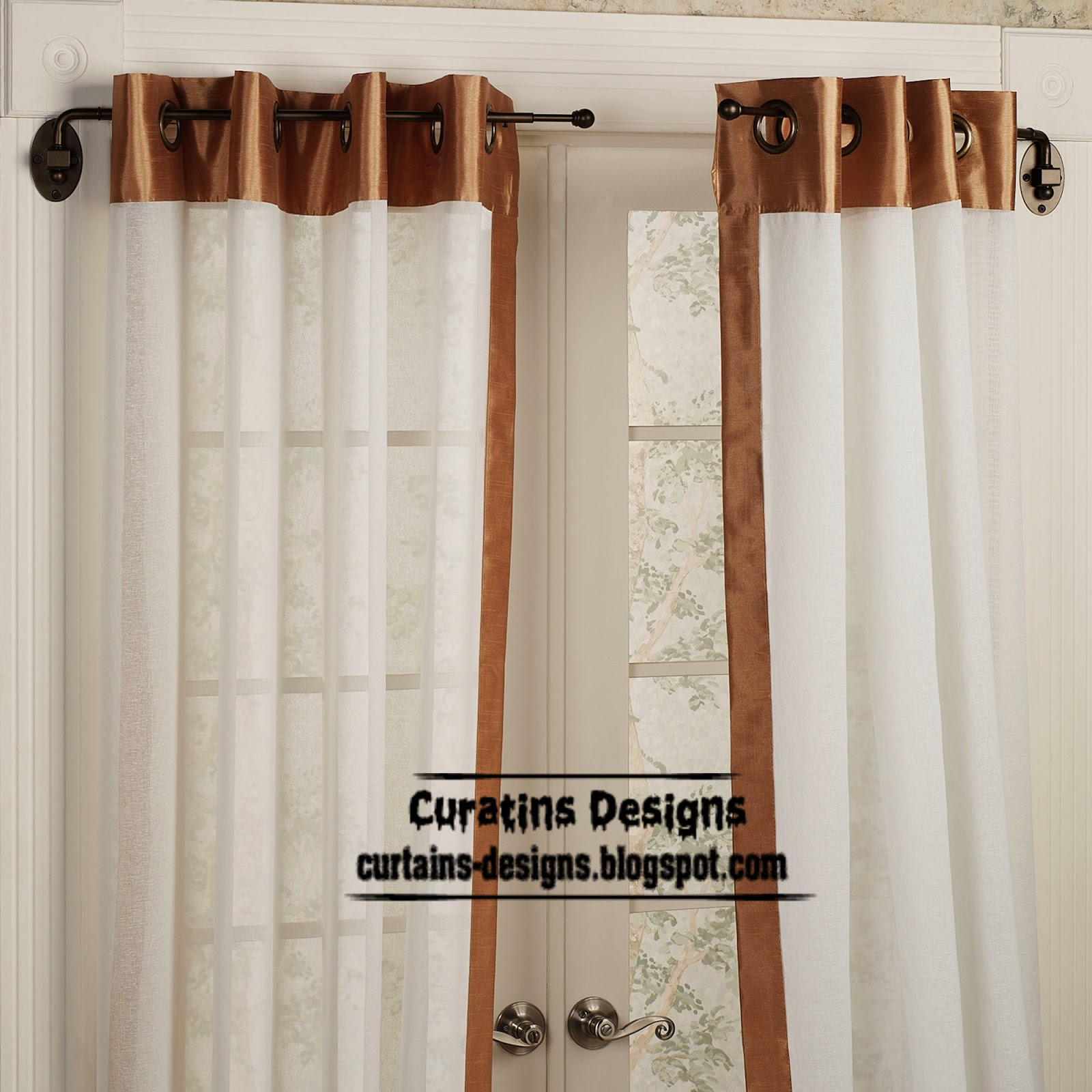 Swing arm curtain rod, the best window covering ideas