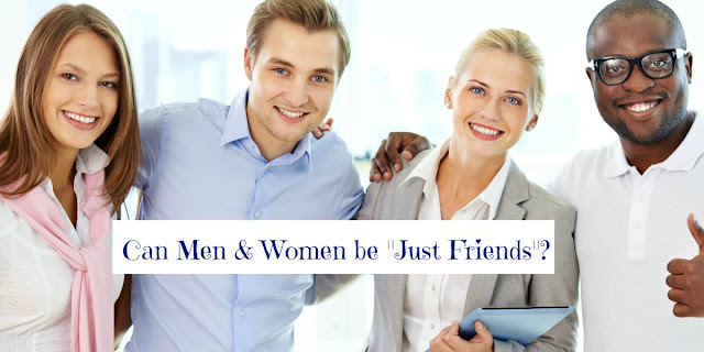 """Can Men and Women be """"Just Friends""""? Does the Bible address platonic relationships? Do male and female attitudes differ in this area? This devotion addresses those questions and provides a forum for opinions."""