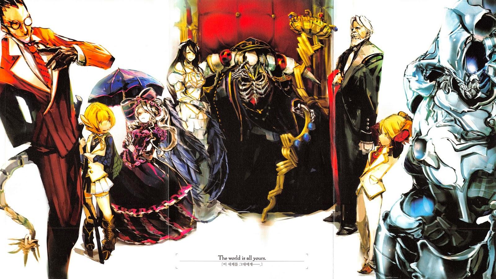 Anime 4k Wallpaper: Imoutolicious Light Novel Translations: Overlord Volume 1