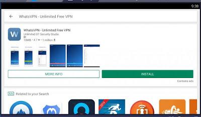 WhatsVPN - Unlimited Free VPN
