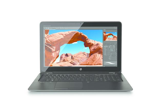 HP nâng cấp máy trạm di động ZBook 15u với chip Intel Kaby Lake
