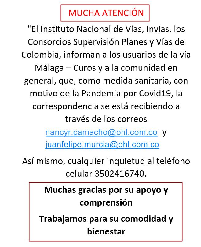 Consorcio Vías de Colombia con nuevo servicio de Correspondencia