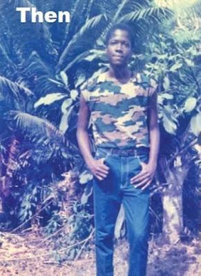 Kwame Sefa Kayi Childhood picture