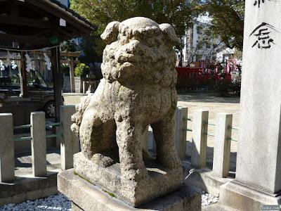 富島神社狛犬