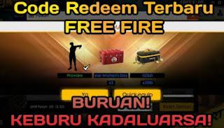 Redeem Code Free Fire Thailand