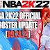 NBA 2K22 OFFICIAL ROSTER UPDATE 09.24.21