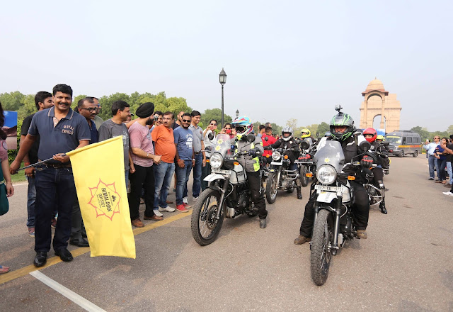 Royal Enfield Debuts Its First Ever Women's Edition Of The Himalayan Odyssey