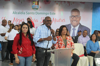 Alcaldía de Santo Domingo Este celebra por todo lo alto del Día de las Madres