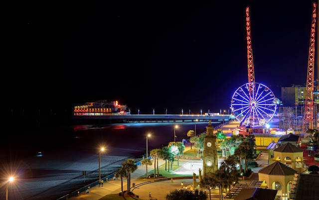 Daytona Beach Pier and Boardwalk