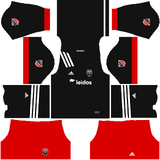 Kits/Uniformes DC United - MLS 2020 - FTS 15/DLS19