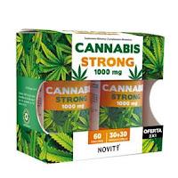 Cannabis Strong 1000mg 30 + 30 cápsulas