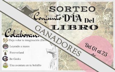 Banner del fallo del Gran Sorteo Día del Libro