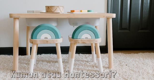 Kumon atau Montessori? Itu Mungkin Bergantung Pada Politik Anda