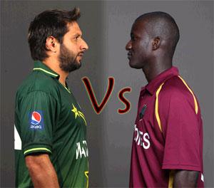 आईसीसी चैम्पियन्स ट्रौफ़ी २०१३ का दूसरा मैच पाकिस्तान और वेस्ट इंडीज़ के बीच है।