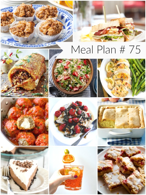 All new weekly meal plan to help you plan out your week of meals! - Ioanna's Notebook