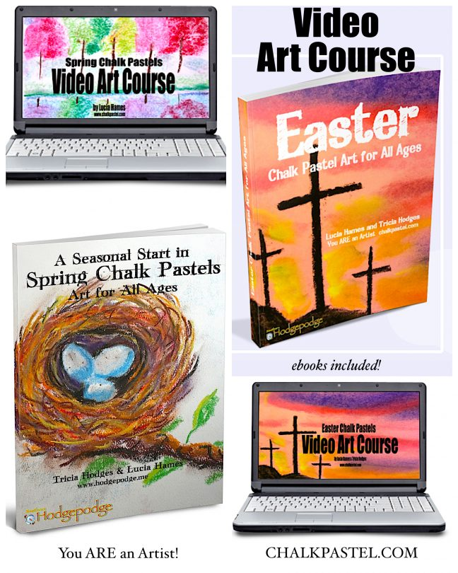 Spring Art Video Lessons