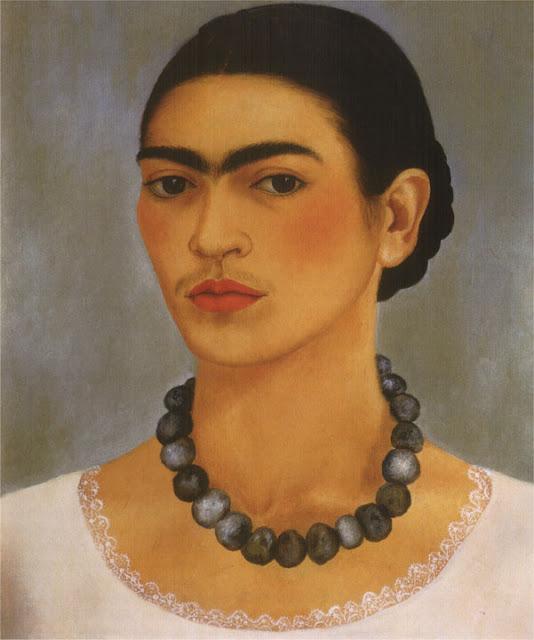 Фрида Кало - Автопортрет с ожерельем. 1933