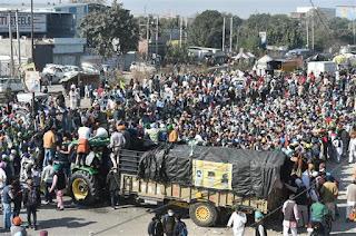 farmer-prostesters-continue-on-delhi-border
