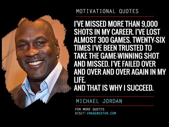 Motivational Quotes by Michael Jordan