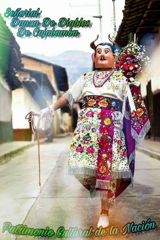 """Danza de Diablos de Cajabamba participa en pasacalle """"Lima celebra la cultura viva"""""""