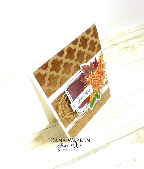 Dana Warren - Kraft Paper Stamps - Graciellie Designs - Spectrum Noir
