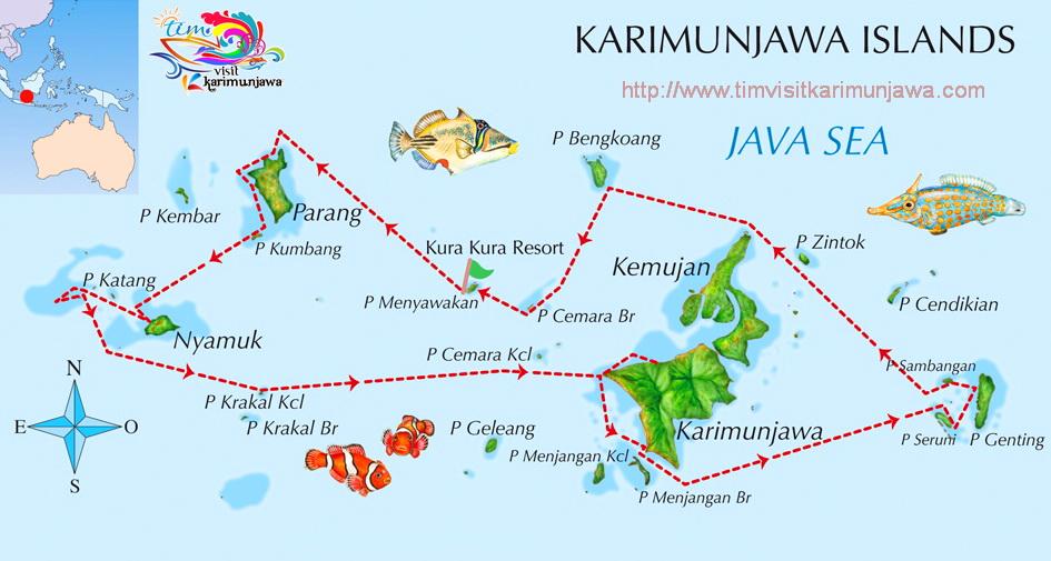 Karimunjawa Islands Indonesia The Paradise Of Java Open Trip Paket