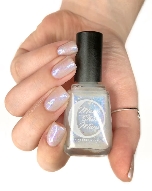 Moon Shine Mani Winter Wonderland 25 Sweetpeas