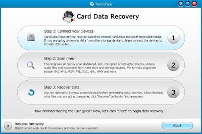 برامج اعادة الملفات لبطاقة الذاكرة