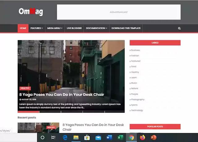 SEO Friendly Blogger Templates Free