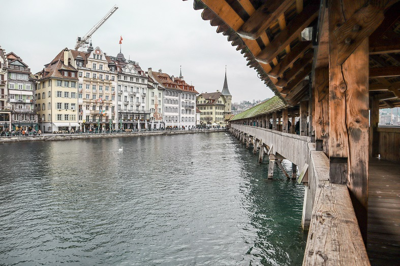 Kapellbrucke a Lucerna