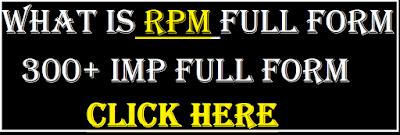rpm full form