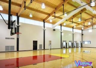 Contoh Gambar Lapangan Bola Basket Indoor (Dalam Ruangan)