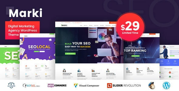 Marki v1.4 - Digital Marketing Agency WordPress Theme