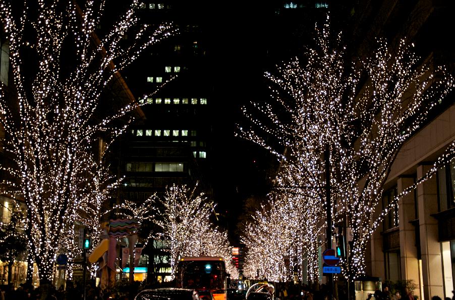 andeivaio Luces de navidad en Tokio 2012