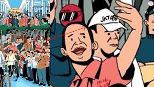 Wah Ada Fans JKT48 Menyelinap di Foto Unggahan Presiden Jokowi