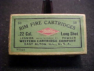 .22 Long Shot Western Ammo East Alton Ill. USA