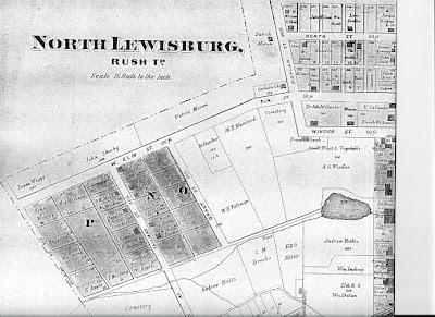 Lewisburg Ohio Map.Exploring Almost Forgotten Gravesites In The Great State Of Ohio