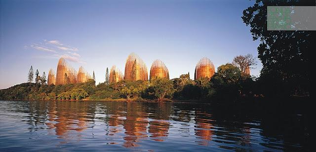 Architettura Contemporanea Renzo Piano Centro Culturale Jean Marie Tjibau Oceanea i grandi maestri dell'architettura vista