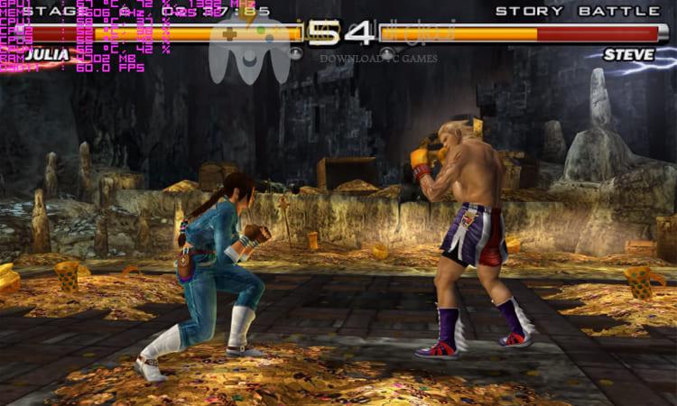 تحميل لعبة Tekken 5 للكمبيوتر مضغوطة