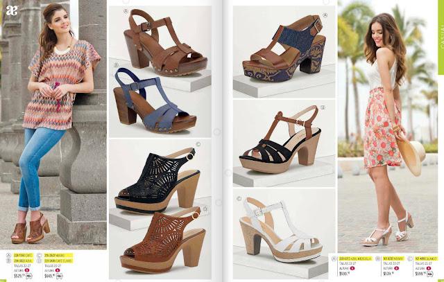 Zapatos Andrea sandalias  de moda 2016 verano digital
