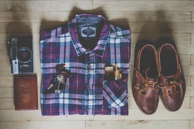 Roupas e acessórios do vestuário masculino