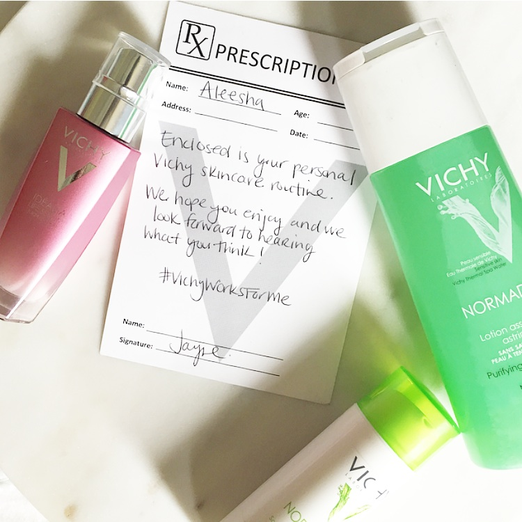 Vancouver beauty blog #VichyWorksForMe product review Canada